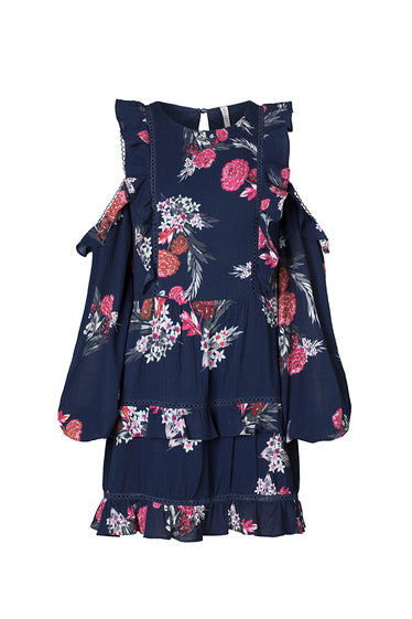 BOTANICA DRESS, MIDNIGHT
