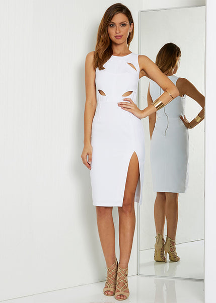Laguna Midi Dress - White