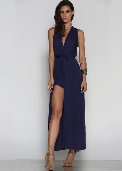 Valentino Playsuit - Navy