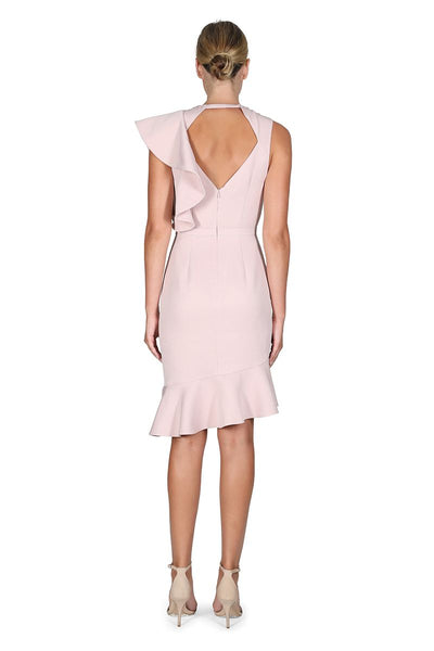 CANYON SHADOWS DRESS- LIGHT PINK