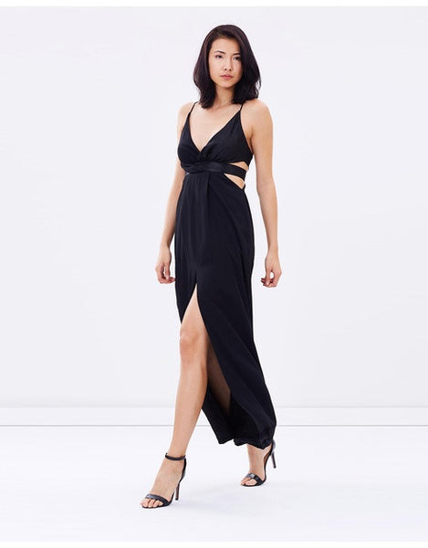 All Wrapped Up Dress - Black