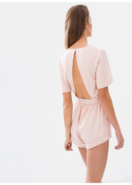 The Rewind Playsuit - Shell