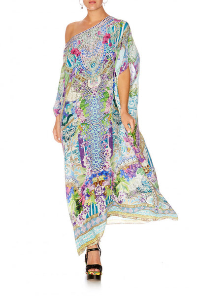 SALVADOR FIELDS FOREVER ROUND NECK KAFTAN