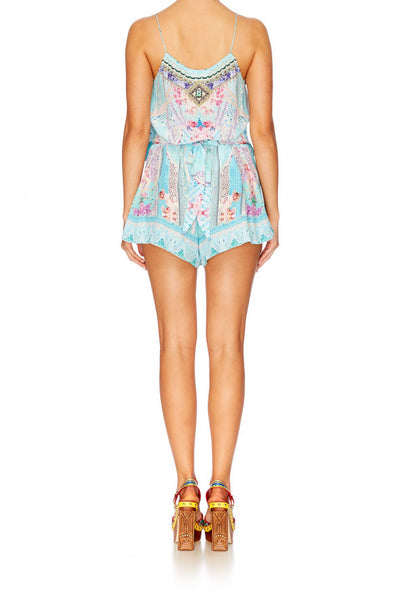 GARDEN STATE SHOESTRING STRAP PLAYSUIT