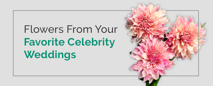 Popular Celebrity Wedding Flowers