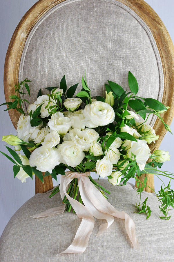 Test- Organic White Bridal Bouquet