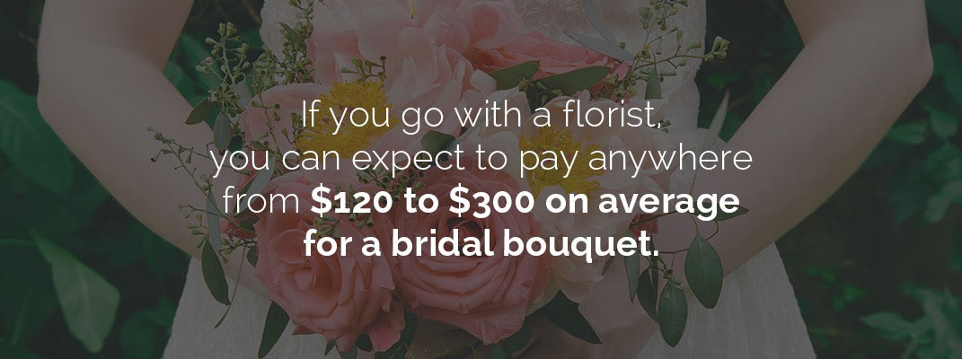 Florist Cost for Bridal Bouquet