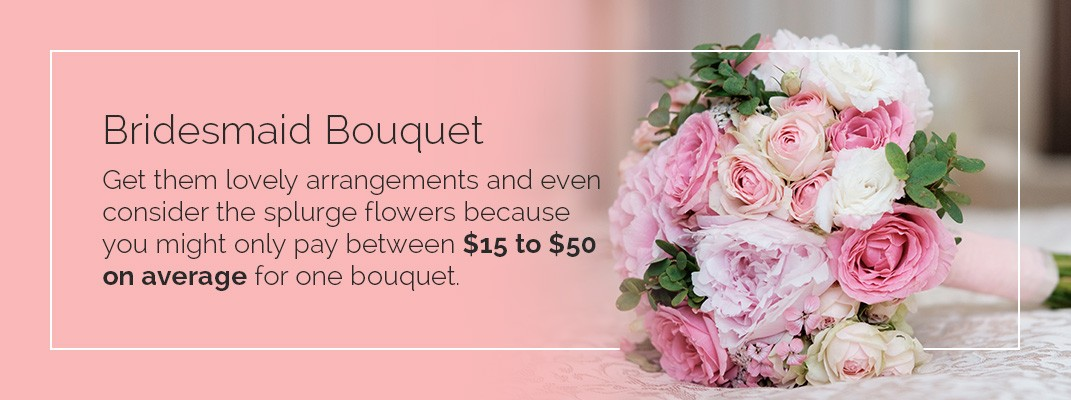 Bridesmaid Bouquet DIY Cost