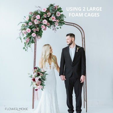 Large Wet Foam Floral Cages