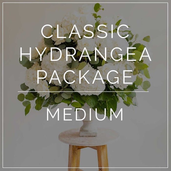 Classic Hydrangea- Medium Package