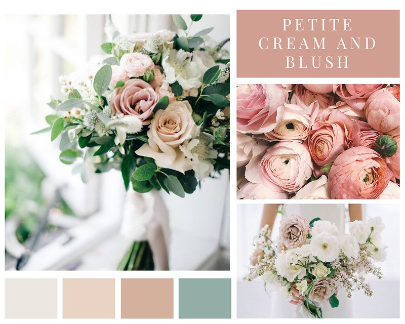Blush and Cream Petite Flower Package