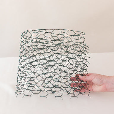 Floral Chicken Wire Mesh