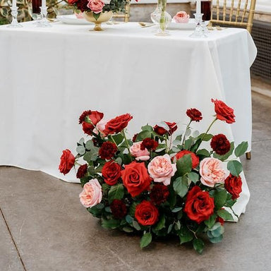2 Large Ceremony Urns (8-9'' Vase Diameter) OR 2 Large Foam Cages for Wedding Arch or Pergola