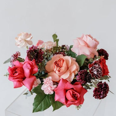 Pink and Raspberry Centerpiece IY by Flower Moxie