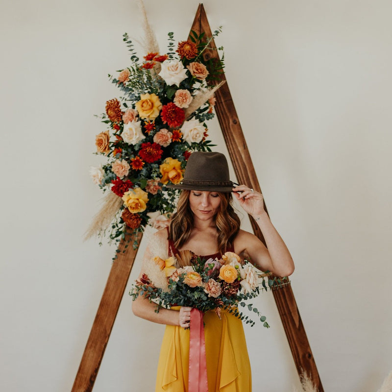 Boho Ceremony Flowers