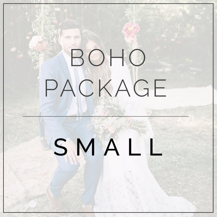 Colorful Boho- Small Package