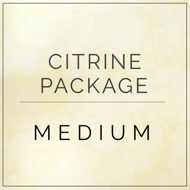 Citrine- Medium Package