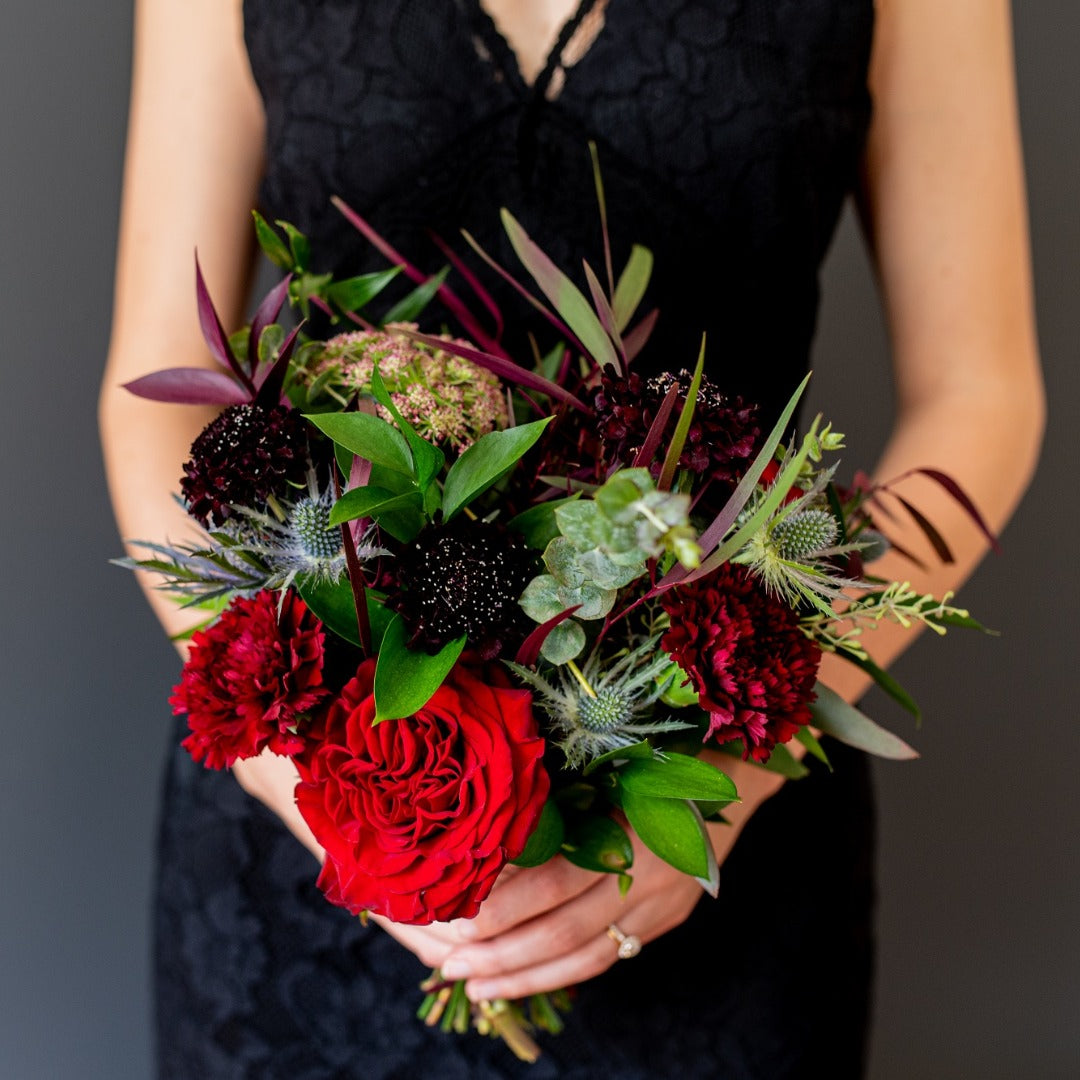 Organic Moody Bridesmaid Bouquet Package Makes 6 Flower Moxie