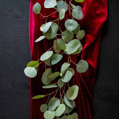 Loose Eucalyptus Garland Table Runner