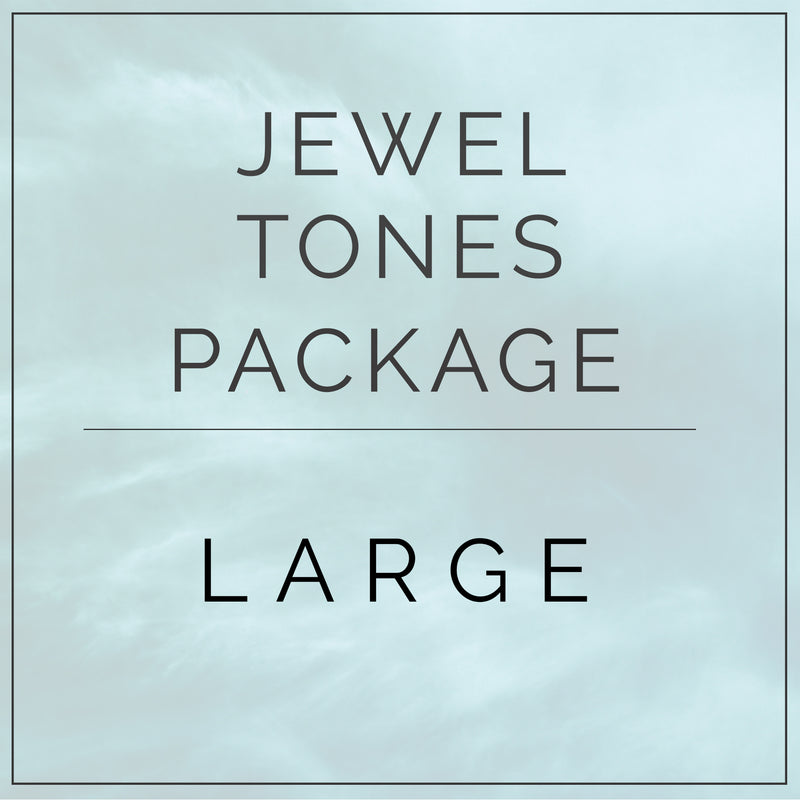 Jewel Tones - Large Package