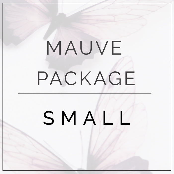 Mauve and Plum- Small Package