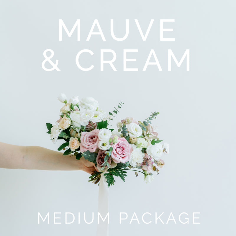 Mauve and Cream - Medium Package