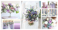 Lavender and Cream- Medium Package