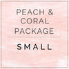 Peaches and Coral- Small Package
