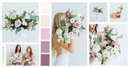 mauve cream diy wedding flowers fresh floral kits