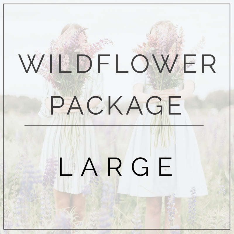 Wildflower- Large Package