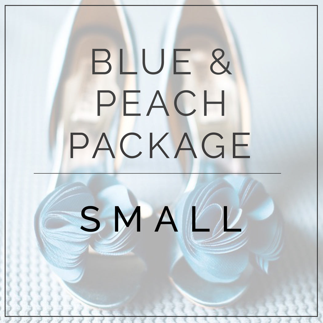 Peach and Blue- Small Package