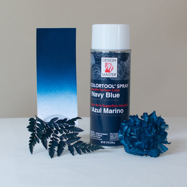 Navy Design Master Colortool Floral Spray Paint