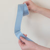 french blue satin ribbon