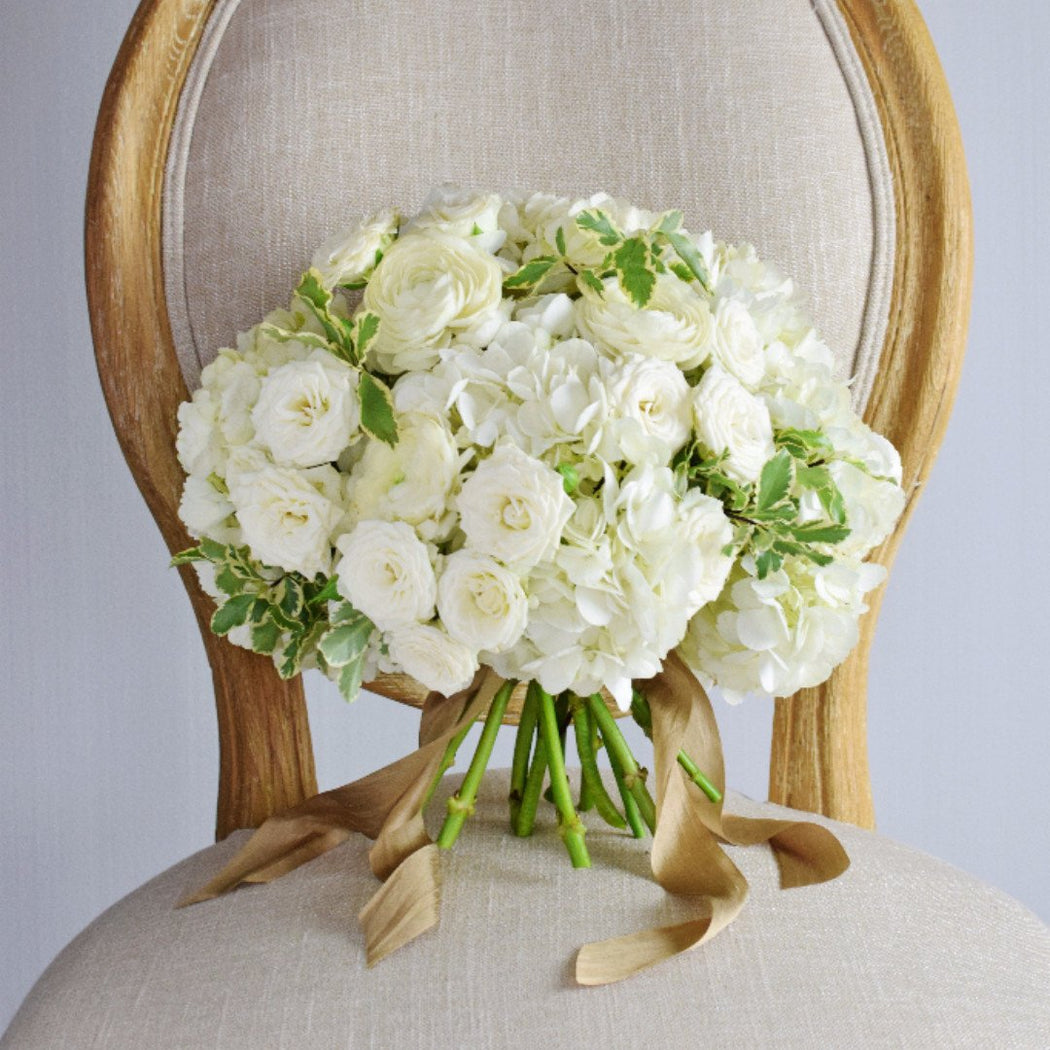 white hydrangea wedding bouquet white hydrangea bridal bouquet flower moxie 1342