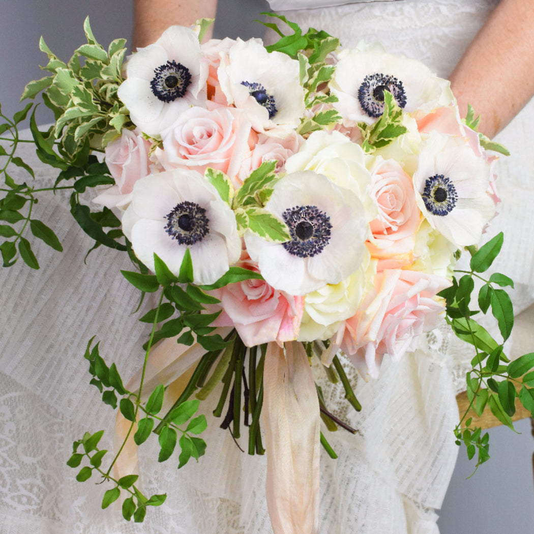 Organic Blush Bridal Bouquet