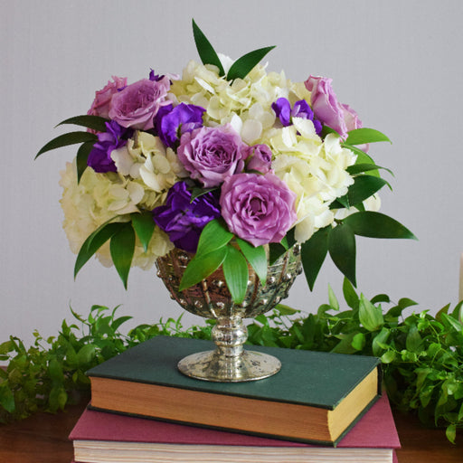 Purple Centerpiece - Makes 4
