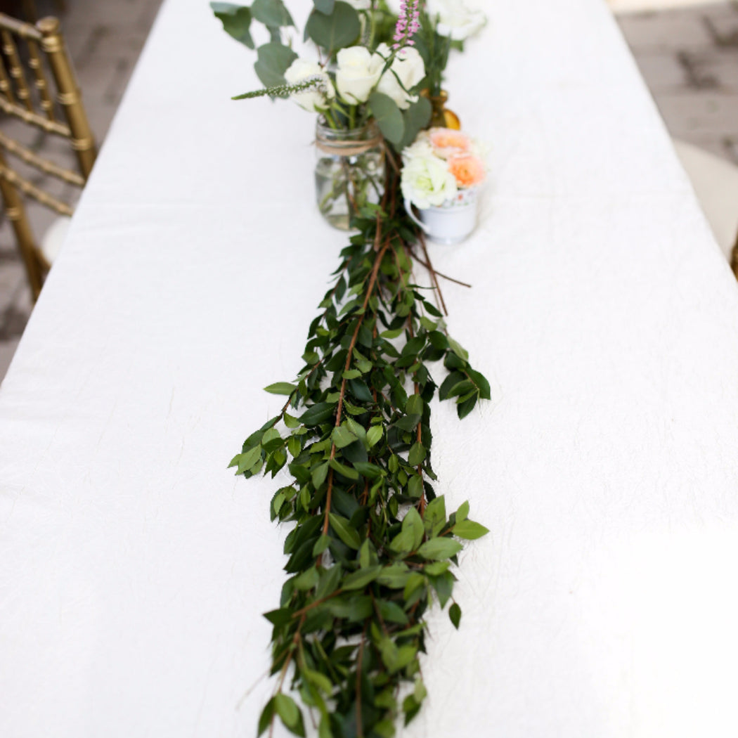 Myrtle | Myrtle Garland | Flower Moxie | DIY Wedding Flowers