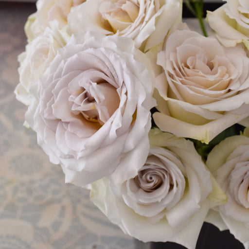 Early Grey rose | Flower Moxie | DIY Wedding Flowers | gray rose | Dusty rose | muted wedding flowers