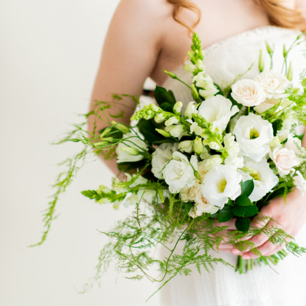 Emerald Whimsy Bridal Bouquet