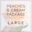 Peaches and Cream- Large Package
