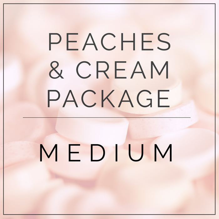 Peaches and Cream- Medium Package