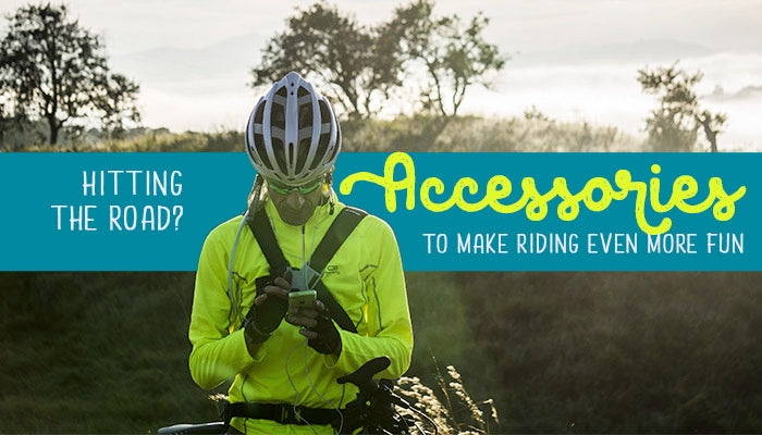 Accessories to make cycling more fun