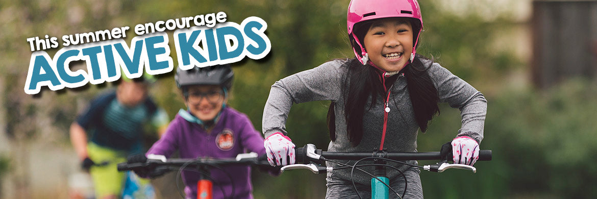 Encourage Active Cycling Kids