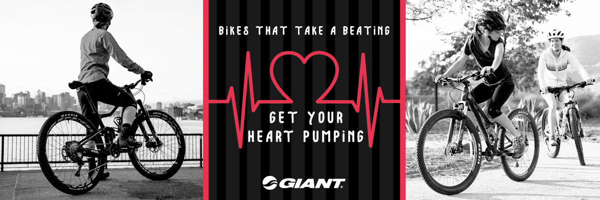 Get your heart pumping with Giant Bikes