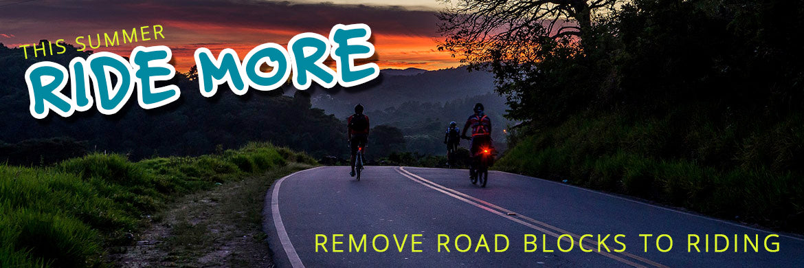Remove cycling road blocks