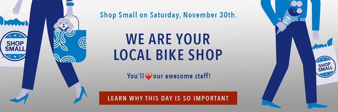 Small Business Saturday at Takoma Bicycle