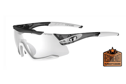 Aethon Cycling Glasses in Crystal Smoke/White Fotote