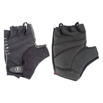 Aerius Classic Fingerless Gloves BLACK LARGE