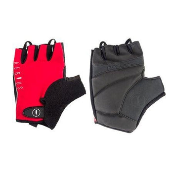 Aerius Classic fingerless Gloves RED SMALL