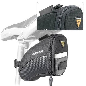 Topeak Aero Wedge Seat Bag with Strap: SMALL